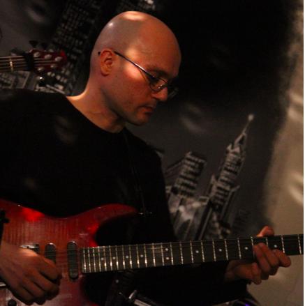 team officine sonore massimo Maki Parolin corso di chitarra
